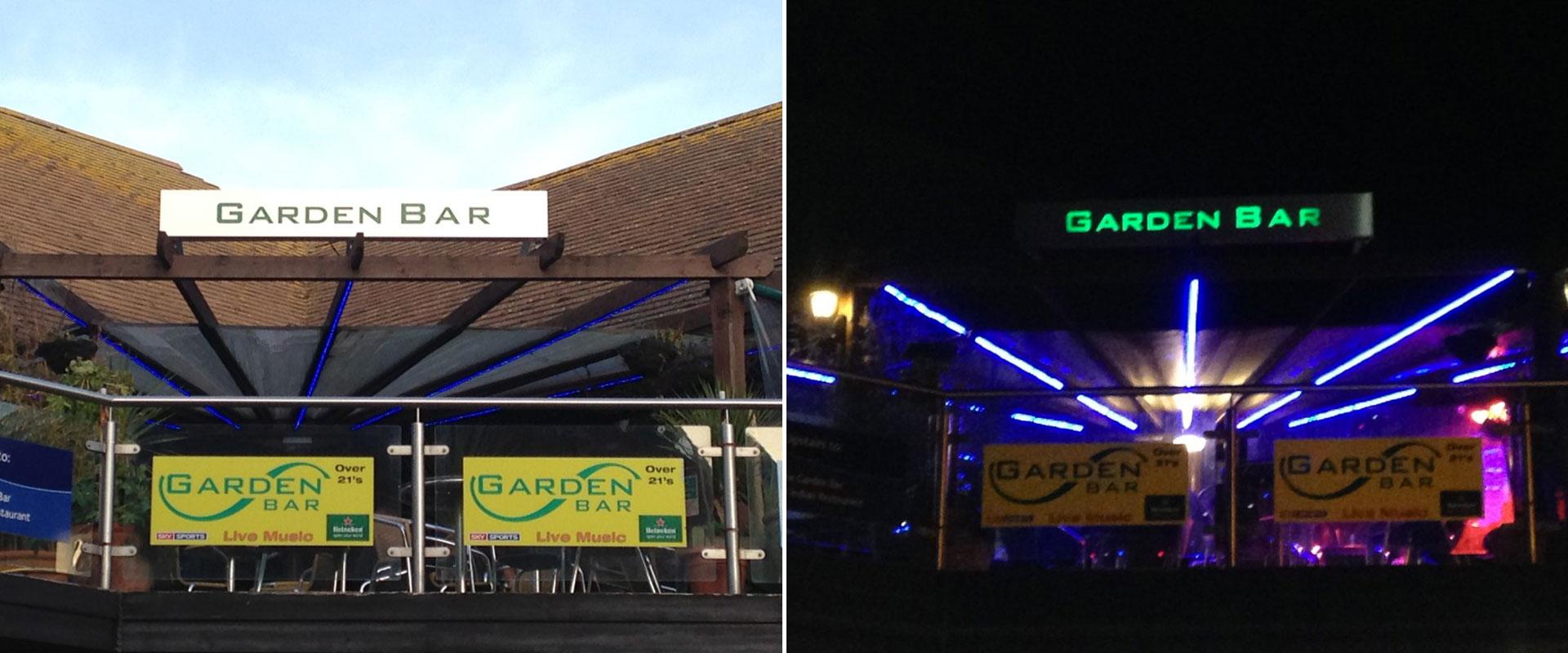 Garden Bar-Banner